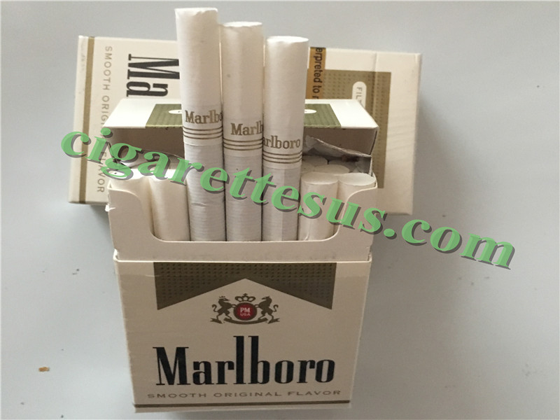 Marlboro Cigarettes Online From Usa Marlboro Gold Short Cigarettes 100 Cartons