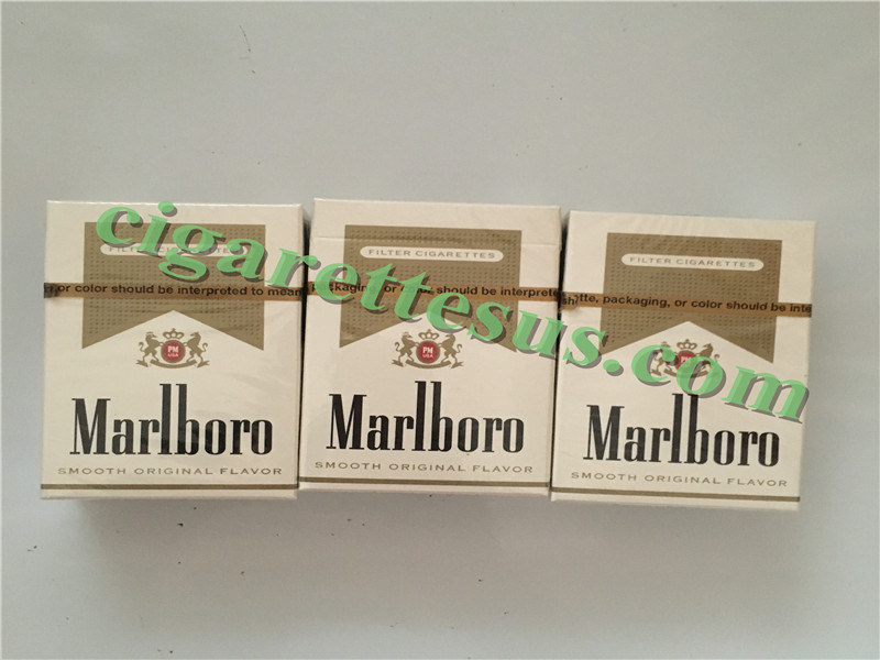 Wholesale Cigarettes Marlboro Gold Short Cigarettes 30 Cartons