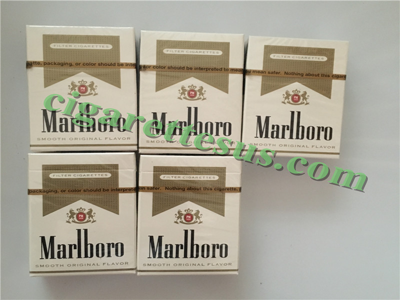 Cheap Discount Cigarettes Free Shipping Marlboro Gold Short Cigarettes 6 Cartons