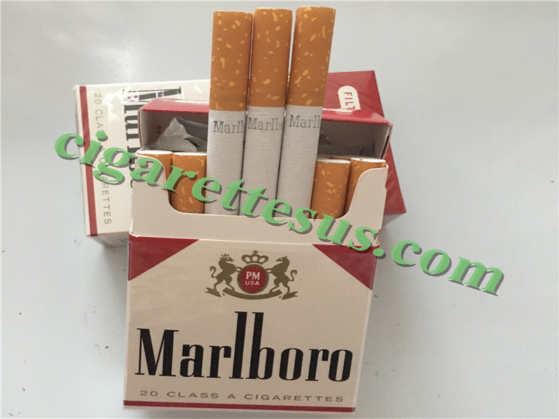 Discount Bulk Cigarette Tobacco Marlboro Red Short Cigarettes 40 Cartons